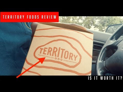 The Meal Prep Review Vlog   Territory Foods Review