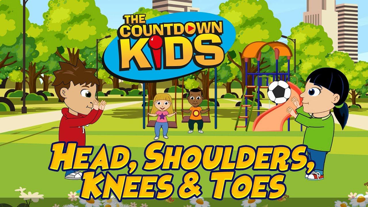 Head, Shoulders, Knees and Toes - The Countdown Kids | Kids Songs & Nursery Rhymes