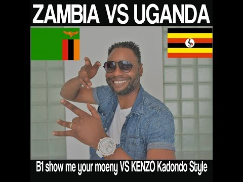 Zambia vs Uganda B1 Show me your money & Kenzo Kadondo Style