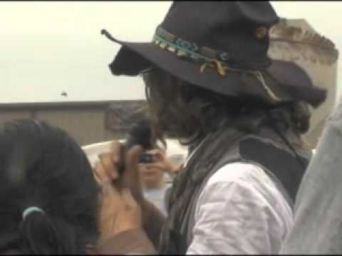 Johnny Depp in Lawton - Comanche Nation Fair 2012