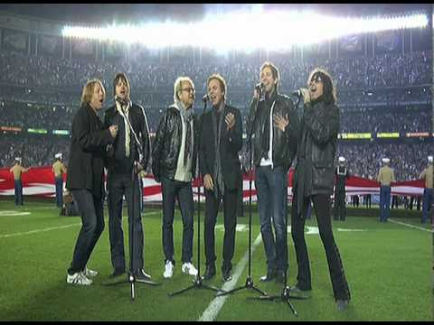 Foreigner Sings National Anthem at Chargers Game