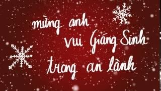 Mừng ANh Vui Giáng Sinh - 2 Chorus