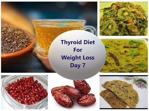 Hypothyroid Meal Plan Day 7 | Weight Loss Diet for Men ...