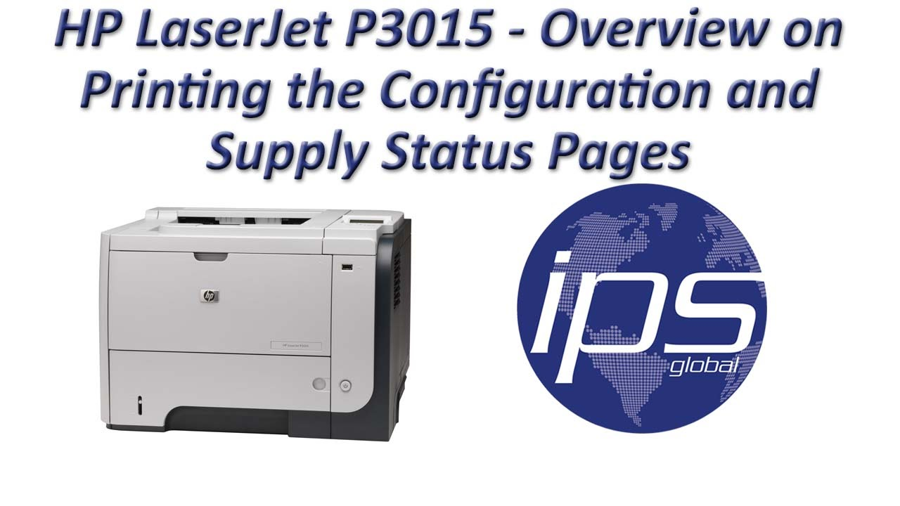 HP LASERJET P3015 PRINTER PCL6 BASIC PRINT DRIVERS FOR WINDOWS 7