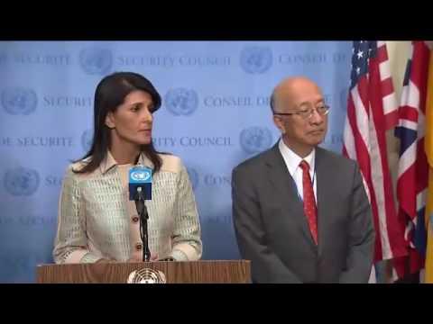 ONU: conferenza stampa USA, Giappone e Corea del Sud su esperimenti nucleari