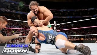 Ryback Vs. Rusev: SmackDown, Oct. 8, 2015
