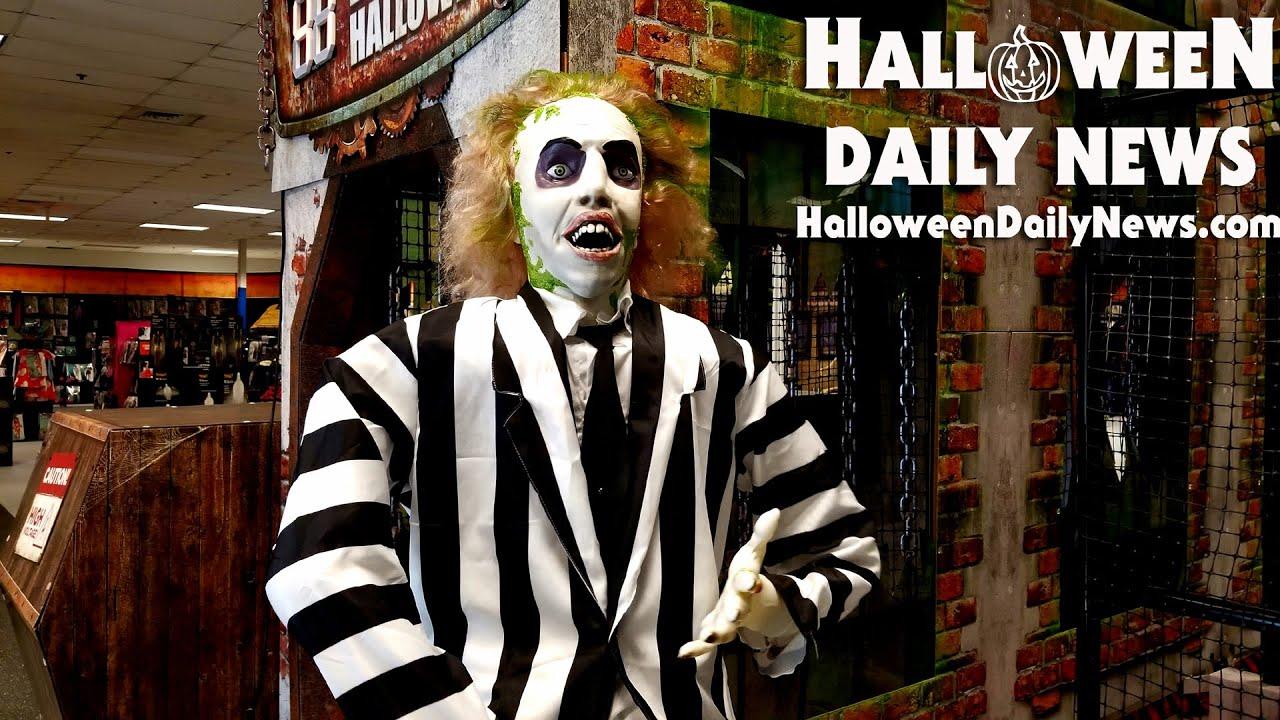 Spirit Halloween 2021 Round 3 Store Walkthrough   HalloHunting