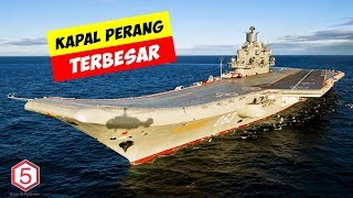 10 Kapal Perang Terbesar Yang Pernah Di Buat Manusia
