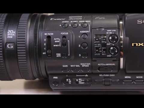 DMC Sony HXR-NX3/1 NXCAM Professional Handheld Camcorder