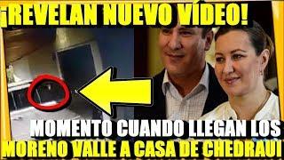 ¡REVELAN VIDEO DE LOS MORENO VALLE! LLEGANDO A CASA DE JOSE CHEDRAUI - ESTADISTICA POLITICA