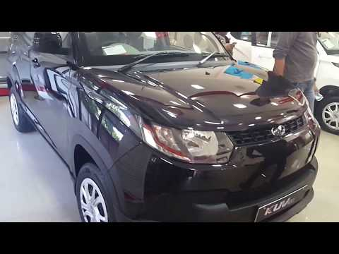 Mahindra KUV100  K4 Variant Black Colour