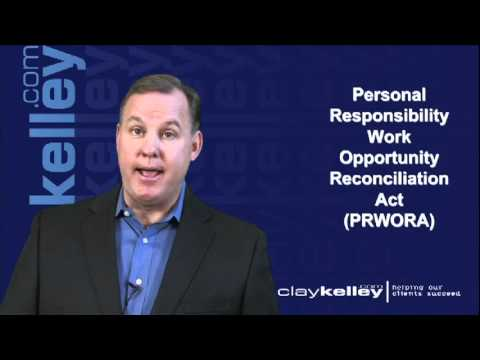 Clay Kelley - Commentary on Labor Reg: PRWORA