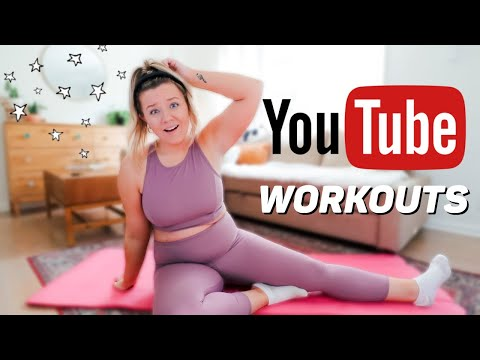 Thicc Gurl Tries Popular YOUTUBE Workout Videos! *SOS*