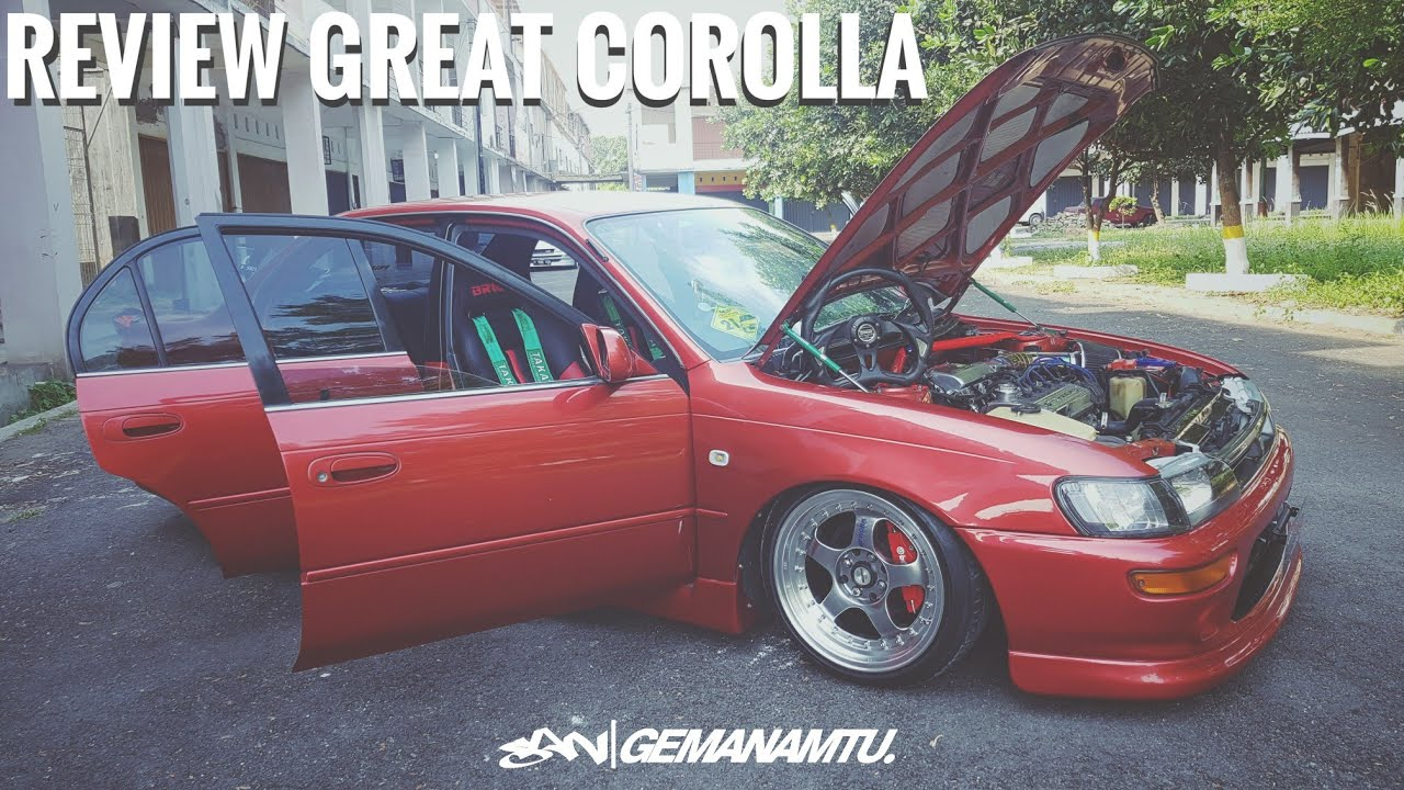 Great Corolla 1992 Modification Review || Toyota AE101