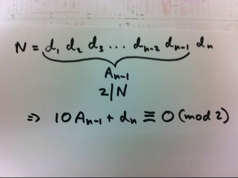Congruences and Divisibility