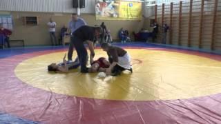 ЮФО борьба девушки 55 кг Марина Симонян Убийца!