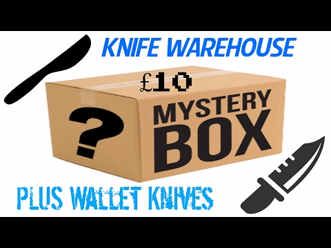Knife warehouse £10 mystery box