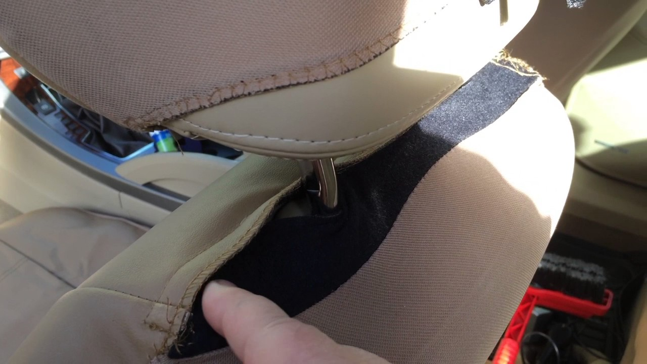 How To Put FH Seat Covers On A Buick Lacrosse