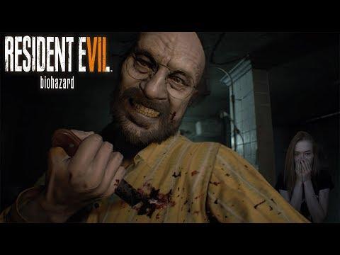 Resident Evil 7 Biohazard - Доставучий Джек! Хоррор с вебкой!  №2