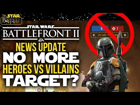 Heroes Vs Villains Is Being REWORKED | Battlefront 2 Update thumbnail