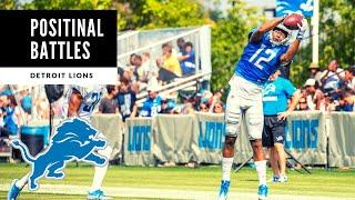 Detroit Lions Training Camp Preview! Positional Battles! Detroit Lions Talk