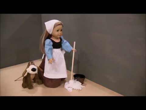 EPISODE 1 American Girl Doll Cinderella, Invitation To The Ball AGSM