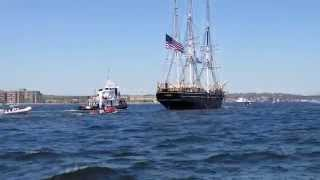 Charles W. Morgan Thames River New London (CT) 2014