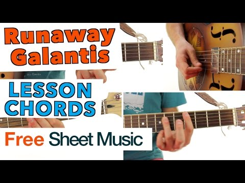 ► Runaway - Galantis ★ Guitar Lesson ★ Tutorial ★ CHORDS