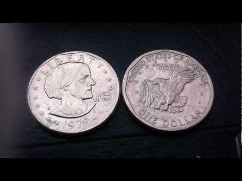 "Coins : Susan B. Anthony Dollar 1979 D aka ""Susan B."" or ""Susie"""