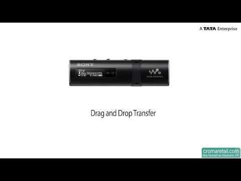 Sony NWZ-B183F 4 GB Walkman MP3 Player