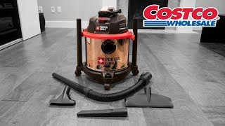 COSTCO Porter Cable Wet/Dry Vacuum - PCX18406-5B Review and UNBOXING