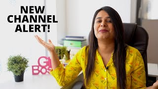 I've Launched A New Channel! Saloni Srivastava's New Channel   HustlePost Academy Channel