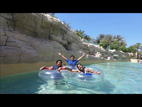 Fun Day at Aquaventure waterpark | Birthday vlog-2 | Atlantis Hotel, Dubai