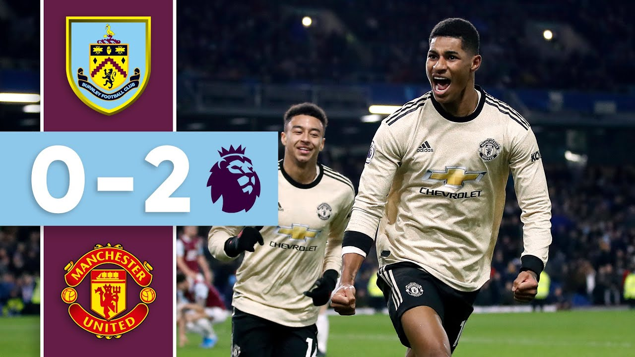 Burnley vs Manchester United: Anthony Martial and Marcus ...