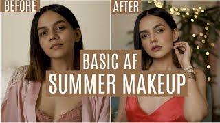 BASIC AF SUMMER SKINCARE & MAKEUP!   Komal Pandey