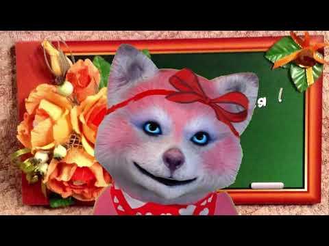 Красивый день учителя. Прикольные видео открытки.