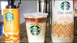 HOW TO MAKE A STARBUCKS CARAMEL MACCHIATO | A SIMPLE WAY