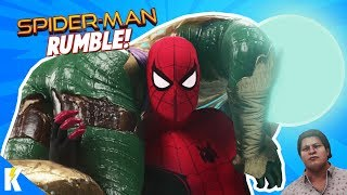 Spider-Man Far From Home Movie Rumble in WWE 2k19! KIDCITY GAMING