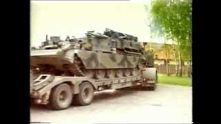 16 Tank Transporter Sqn, RCT/RLC, Fallingbostel, Scammell Commander, BAOR, 1987 (3)