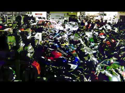 Tampa Teens Rescue Sport Bikes and Gear from Perfectly Dry Store During Irma