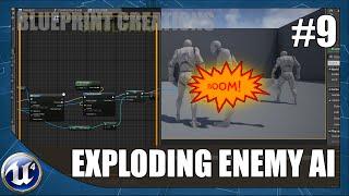 Erstellen Explodierenden Feind AI - #9 Unreal Engine 4 Blueprint Tutorial Kreationen