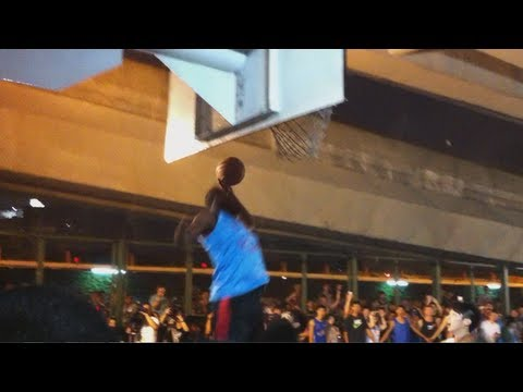James Harden playing streetball in Taipei 哈登在台北新生橋下 PART1