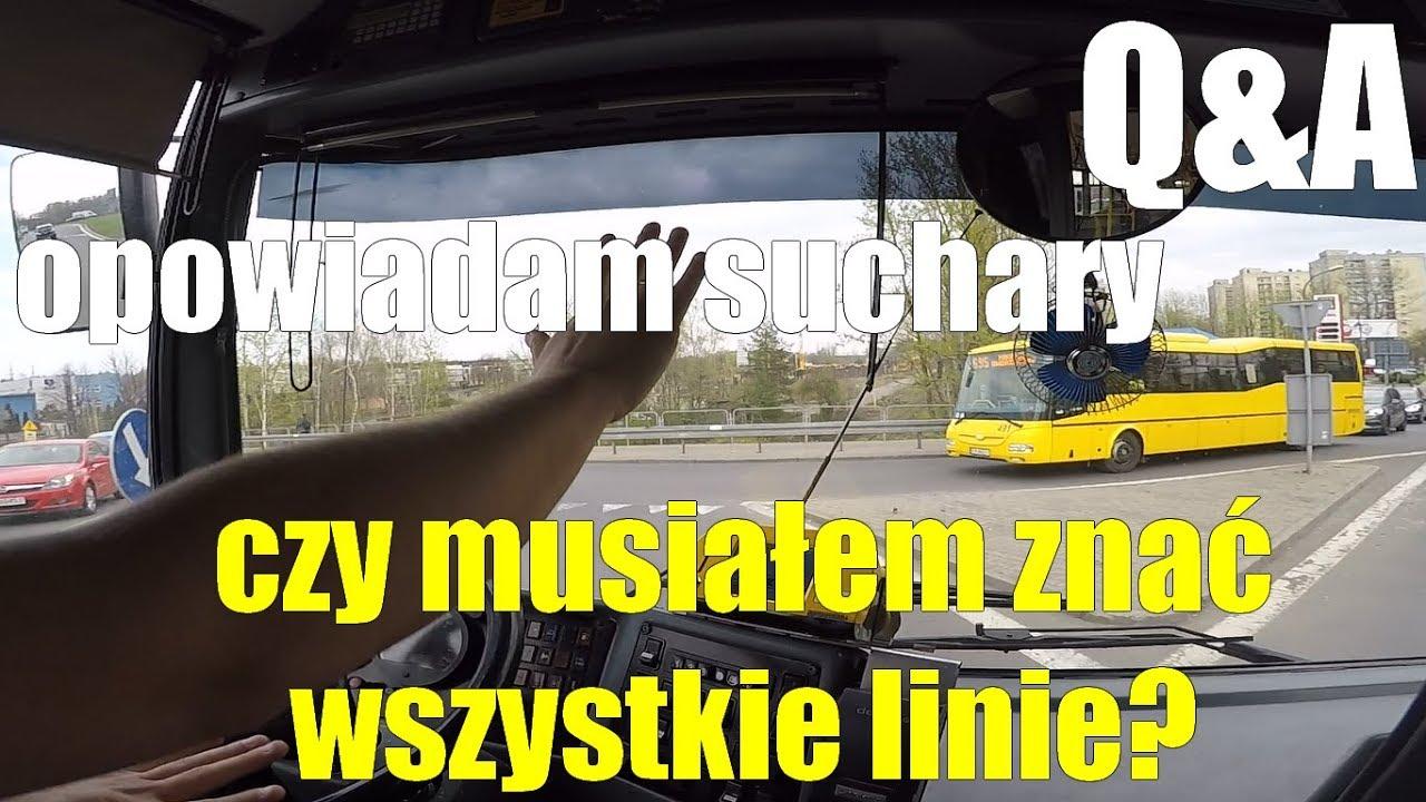 ???? Linia [689] cz.4 Cabview Q&A. Kierowca autobusu żarty sobie robi