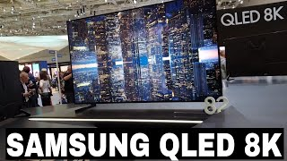 Samsung TV QLED 8K - Anteprima IFA 2018