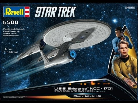Revell 1/500 Star Trek USS Enterprise Into Darkness Model Kit Review @ SMKR