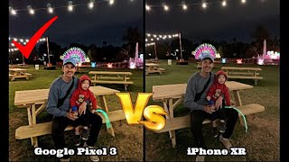 iPhone XR vs Pixel 3: 43 Side by Side Camera Photos (Daylight/Low Light/Front & Back Side)