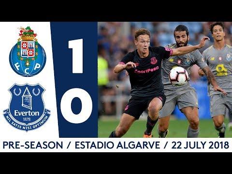 FC PORTO 1-0 EVERTON   TOSUN HITS POST IN ALGARVE CUP FRIENDLY