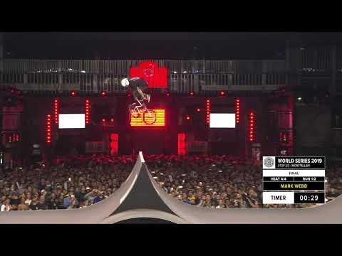 Mark Webb | 2nd Place - BMX Freestyle Park Spine Ramp Pro Final | FISE Montpellier 2019