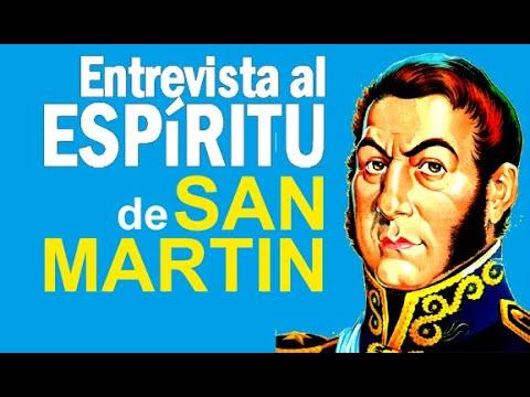 Entrevista al espiritu de Jose de San Martin
