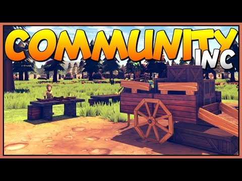 WE ARE THE NEW COLONY MANAGER - Building a New Trading Town - Let's Play Community Inc Gameplay
